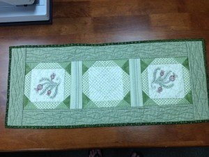 Scenes of Spring and Fall Table Runner