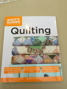 Idiot's Guide:  Quilting by Jennifer Fulton