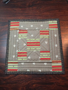 Candle Mat front
