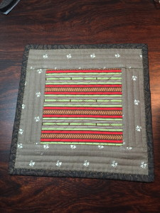 Candle Mat backside